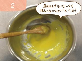 水にキレイに溶かす方法2